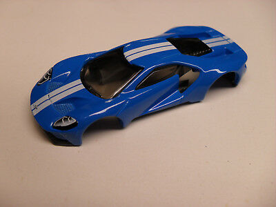 Ford Gt Concept Body For Mega G   Ho Slot Car Chassis Afx Aw