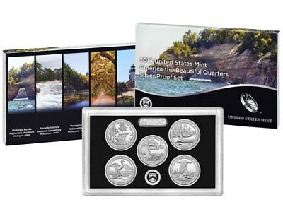 2018-S National Park Quarter SILVER(90%) Proof Set / Same Day Shipping.