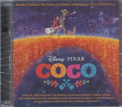 SEALED - Coco NEW Original Soundtrack Includes 2 CD's SHIPPING NOW !!