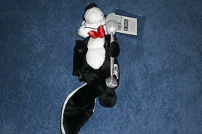 Warner Brothers Looney Tunes 2000 PEPE LE PEW HOLLYWOOD Bean Bag Plush
