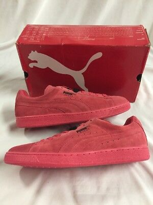 online retailer 16ef4 37620 PUMA SUEDE CLASSIC Teaberry Red-Black, Size 14 Men's Shoes, UK13, EUR 48.5