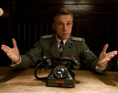 Inglourious Basterds UNSIGNED photograph - L7218 - Christoph Waltz - NEW IMAGE