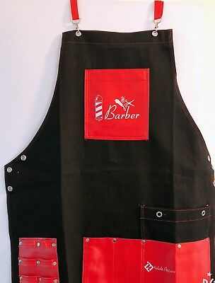 Barber jeans apron,hair cut apron,barber leather cape,salon hair cut apron