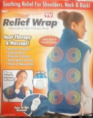 Extra Long Neck Shoulder And Back Heating Pad Relief Heat Wrap Muscle Therapy