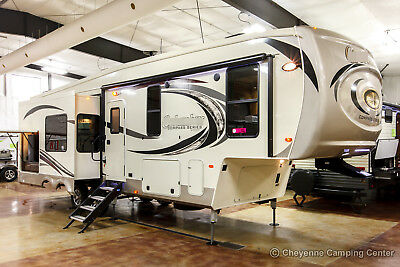 New 2018 Compass 298RLC Rear Living Room Luxury 3 Slide Out 5th Fifth Wheel