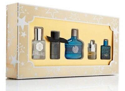 cf507111c83 Macys Mens 5-PC Fragrance Cologne Gift Set Azzaro John Varvato Versace  Burberry