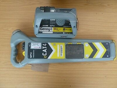 Radiodetection eCAT4 Cable Avoidance Tool with Genny