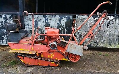 TRENCHER TRENCHING MACHINE Davis task master 200 de witch aft drainage  digger
