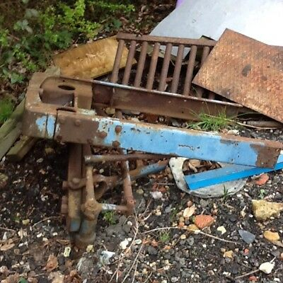 Fordson Major Weight And Framework