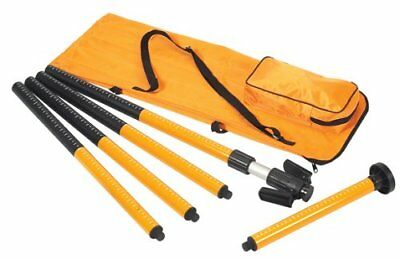JOHNSON Pro 40-6300 Interior Laser Pole with Nylon Carrying Bag
