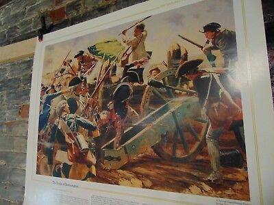 1983 ~ The National Guard Heritage Poster ~ The Battle Of Bennington