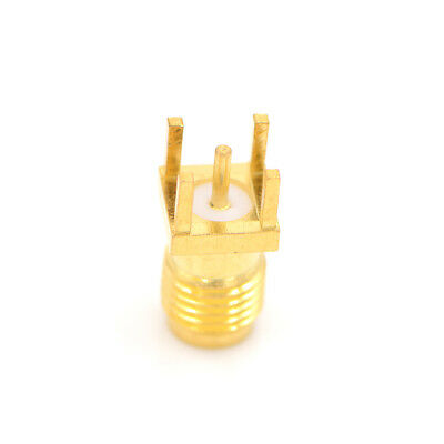 Hot Sale SMA-KE SMA female jack center solder for PCB mount RF connector HT