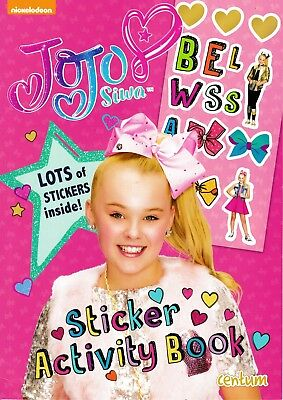 JoJo Siwa Sticker Activity Book from Nickelodeon. Kids Books Children's Gift