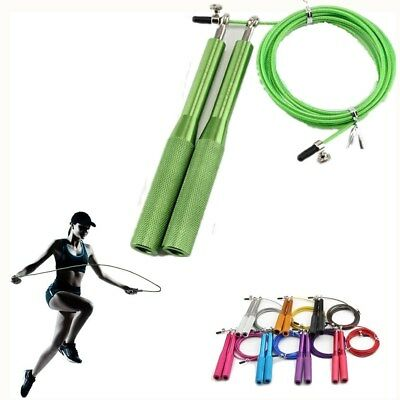Adjustable Skipping Rope Speed Steel Wire Skipping Jump Rope Metal Boxing/Gym