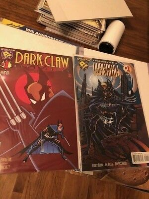 DARK CLAW ADVENTURES #1 legends of Dark Claw #1 lot of 2