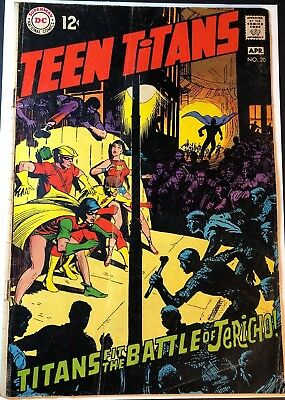 DC Teen Titans #20 1969,  FN+ (7.0) OR BETTER