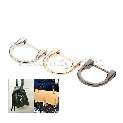 2pc 38*38mm Detachable Non-Welded D Rings Horseshoe Handbag Hardware Accessories