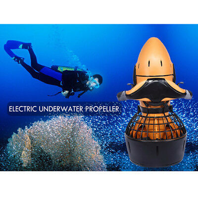 Underwater 300W Electric Sea Scooter Double Switch Propeller Diving Snorkeling