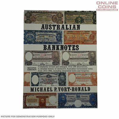 Australian Banknotes Second Edition Soft Cover Book - NEW IN STORE !!!