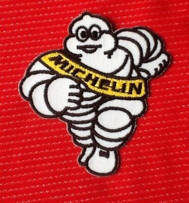 Michelin Man Tyre Tyres Racing Team Motor Sports Car Badge Iron Sew On Patch 1