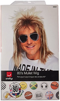 80s Mullet Wig, Blonde  (US IMPORT)  AC NEW