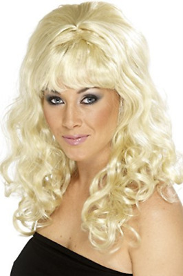 Beehive Beauty Wig, Blonde, with Curls  (US IMPORT)  AC NEW