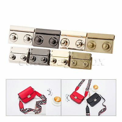 DIY Bags Purse Clasp Closure Parts Accessories Zinc Alloy Twist Turn Lock Snap
