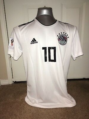 Mohamed Salah Customized Egypt Away Soccer Jersey Sizes S-XL (choose your size)