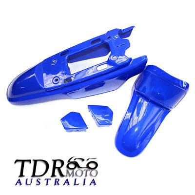 For Yamaha PeeWEE50 PW50 PY50 PW 50 BLUE Plastic Fender Fairing Body Kit