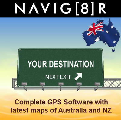 New GPS Software for Navig8r GPS units with latest 2019 Australian and NZ maps