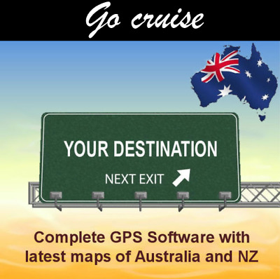 GPS Software for Go Cruise (Aldi) GPS with latest 2019 Australian and NZ maps