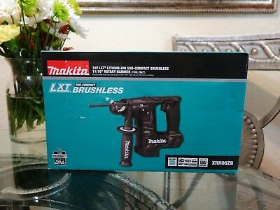 "Makita XRH06ZB 18V LXT Sub Compact Brushless 11/16"" Rotary Hammer (Tool Only)"