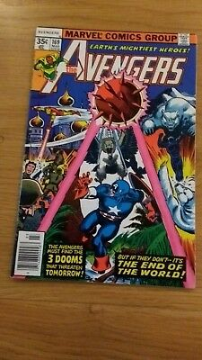 Avengers 169 high grade US issue Featuring Black Panther