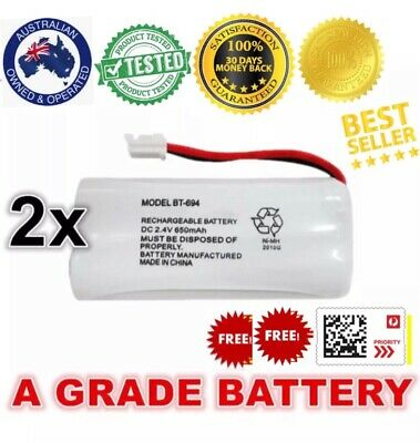 REPLACEMENT f BATTERY UNIDEN BT694 BT694s ORIGINAL GENUINE 650MAH CORDLESS PHONE