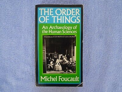 Buch Michel Foucault   The order of thigs