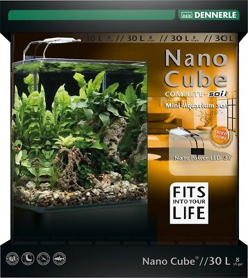 Dennerle Nano Cube Complete Plus Soil 30 Liter PowerLED 5.0
