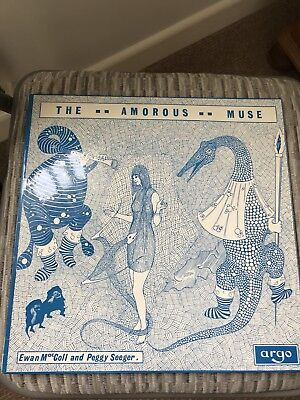 Ewan MacColl and Peggy Seeger  The Amorous Muse LP