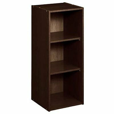 8985 Stackable 3 Shelf Organizer, Espresso
