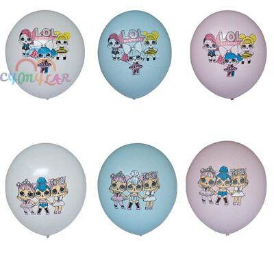 6pcs- 18pcs New LOL Surprise Doll Latex Balloons Party Birthday Decoration