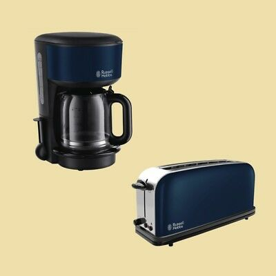 Russell Hobbs Set Colours Royal Blue Kaffeemaschine 20134-56 + Toaster 21394-56