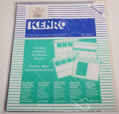 "10 Kenro Filing Cabinet Storage Pages for 4""x5"" Prints"