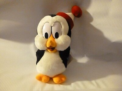 "Vintage Chilly Willy 11"" Plush stuffed Animal Universal Studios 1999 Penguin"