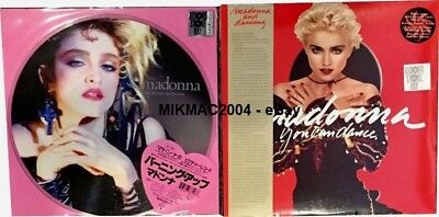 MADONNA - The First Album PICTURE DISC + You Can Dance RED VINYL LP (RSD 2018)