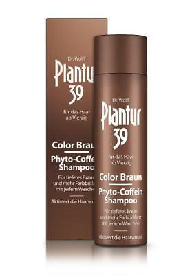 Plantur 39 Color Braun Phyto-Coffein-Shampoo 250ml PZN: 13751989
