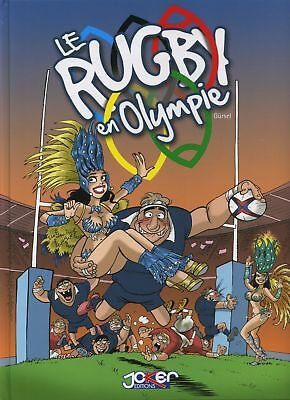 BD occasion  Le rugby en Olympie Editions Joker