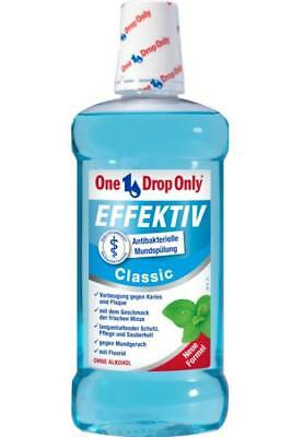 One Drop Only Mundspülung EFFEKTIV Classic 500ml PZN: 10113828