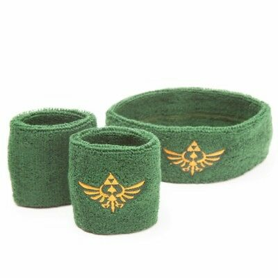 NEW OFFICIAL Nintendo Legend of Zelda Skyward Sword Sweatband Wristband Set