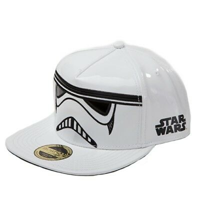 OFFICIAL Star Wars Embroidered Stormtrooper Baseball Cap Snapback Hat (NEW)