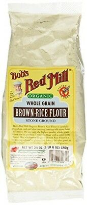 Bobs Red Mill Organic Brown Rice Flour - 24 oz