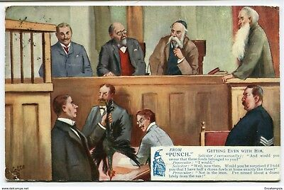 """CPA-Carte postale -Royaume-Uni -From """"Punch"""" -Getting Even With Him - 1907"""